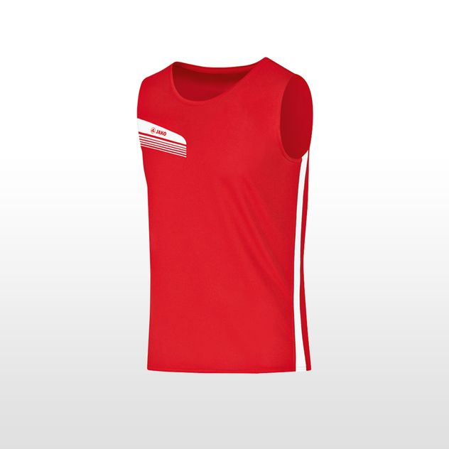 JAKO Tanktop Athletico - rot - weiss