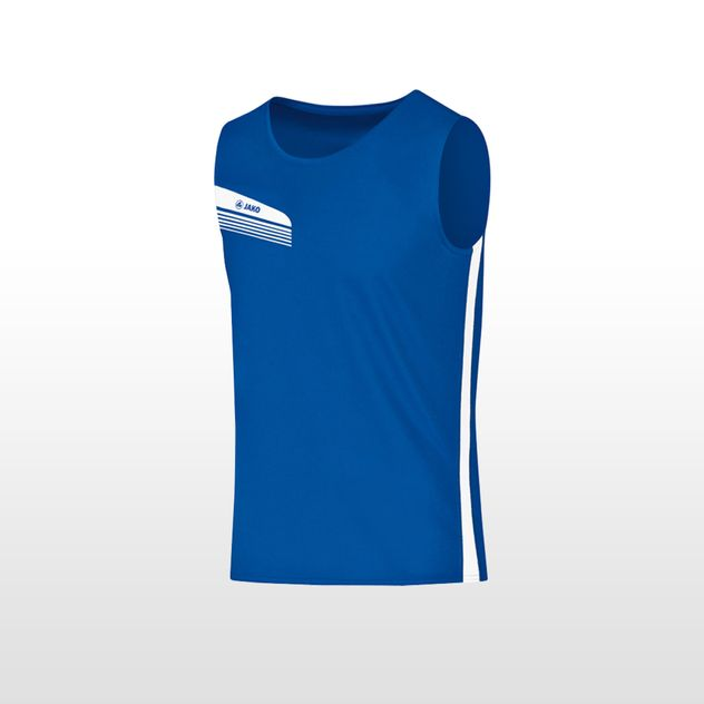 JAKO Tanktop Athletico - royal - weiss