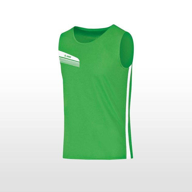 JAKO Tanktop Athletico - soft green - weiss